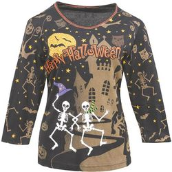 Dancing Skeletons Halloween Shirt