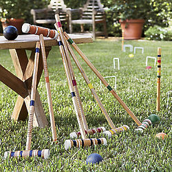 6 Player Croquet Set
