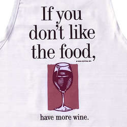 Have More Wine Apron