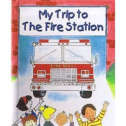 My Trip to the Fire Station Personalized Book