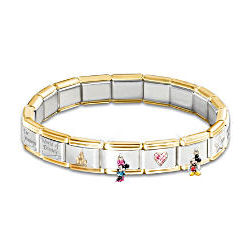 Wonderful World of Disney Italian Charm Bracelet