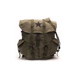 Vintage OD Green Vintage Star Backpack