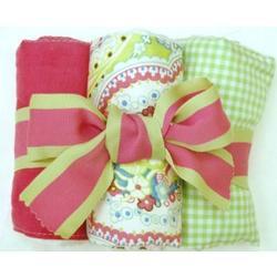 Sugar Baby Burp Cloth Set