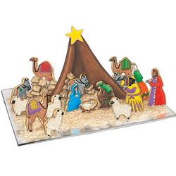 18-Piece Nativity Bake Set