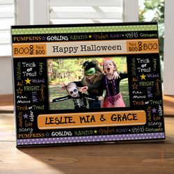 Personalized Halloween Memories Picture Frame