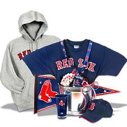 Boston Red Sox Deluxe Gift Basket