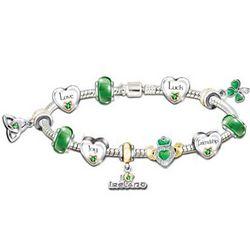 Irish Pride Charm Bracelet