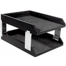 Executive Leather Desk Tray