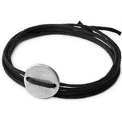 Peace Bomb Coin Wrap Bracelet