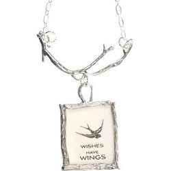 Wishes Have Wings Wine Bottle Branch