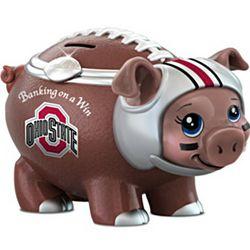 Banking on a Win Football Fan Piggy Bank