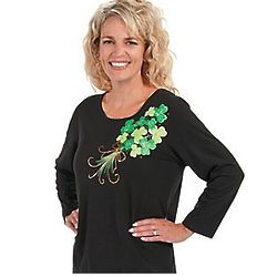 Shamrock Bouquet with Studs T-Shirt