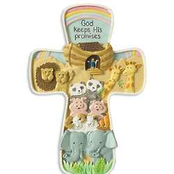 Noah's Ark Cross Hanging
