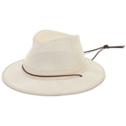 Lady's Ventilated Brimmed Hat