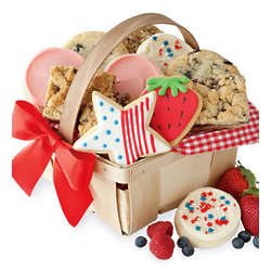 Summer Cookie and Brownie Gift Basket