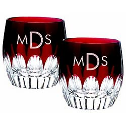 Waterford Mixology Red Tumblers