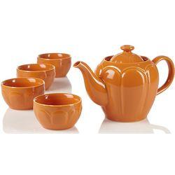 Scallop Teapot Set