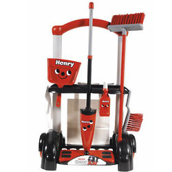 Henry Cleaning Trolley Play Set