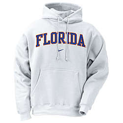Florida Gators White Classic Hoody Sweatshirt