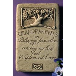 Celtic Design Grandparents Stone Plaque