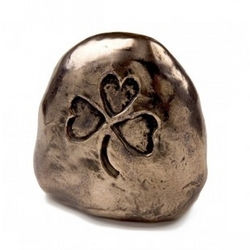 Symbols of Faith Shamrock Stone