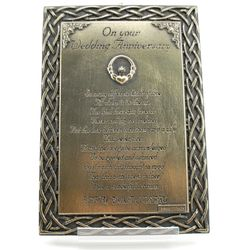 Wedding Anniversary Plaque