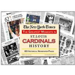 St. Louis Cardinals History Newspaper Collection