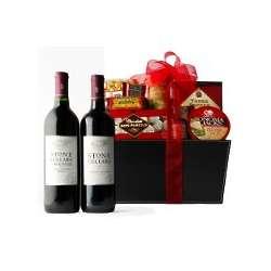 Beringer Stone Cellars Duet Wine Gift Basket