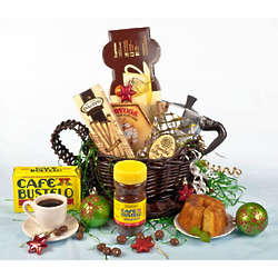 Bustelo Cuban Cafecito and Instant Coffee Gift Basket