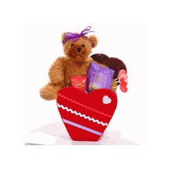 You Are Beary Sweet Valentine Gift Basket
