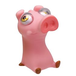Poppin Peepers Pig Stress Toy