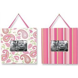 Paisley Park Print Two-Piece Nursery Frame Set