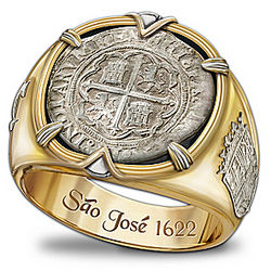 Sao Jose Shipwreck Men's Ring