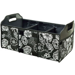 Night Bloom 3-Section Foldable Trunk Organizer