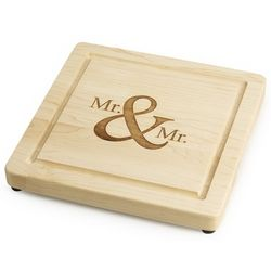Mr. and Mr. Maple Cutting Board