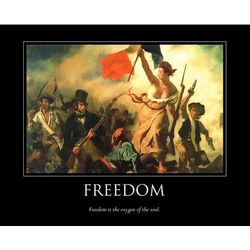 Liberty Leading the People Personalized Print