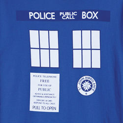 Doctor Who Tardis Trompe T-Shirt
