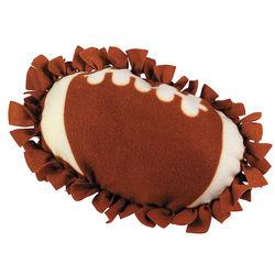 Football Tied Pillow Craft Kit