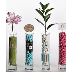 Personalized Bud Vase Wedding Favor