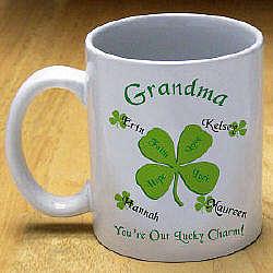 Personalized Luck Charm Coffee Mug