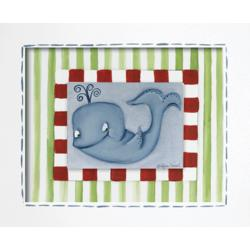 Whale Giclee Framed Reproduction Wall Art