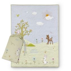 Woodland Friends Baby Quilt
