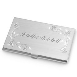 Leaves and Vines Business Card Case