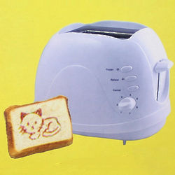 How Are You and Kitten White Logo Toaster