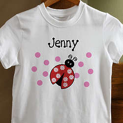 Girls Personalized You Choose the Design T-Shirt