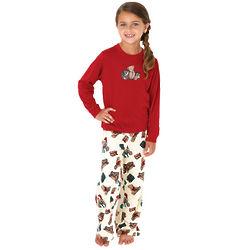 Girl's Teddy Bear Pajamas