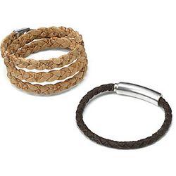 Woven Cork Bracelet