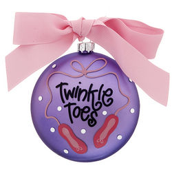 Twinkle Toes Ballet Christmas Ornament