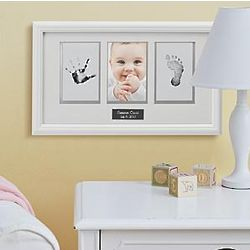 Personalized Babyprints Photo Frame