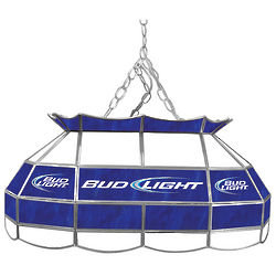 Bud Light Stained Glass Pool Table Light